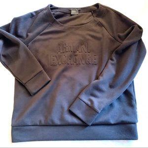 Armani exchange women's active sweatshirt